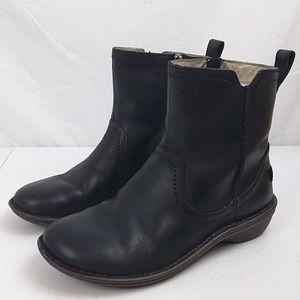 Ugg Neevah Women's Zip Boots Sz 8 Black